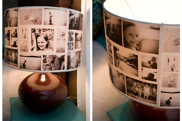 photo lampshade project